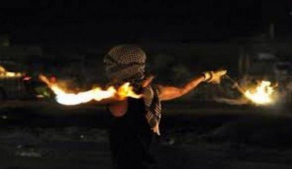 استهداف مُستَوطَنة قرب رام الله بزجاجات حارقة