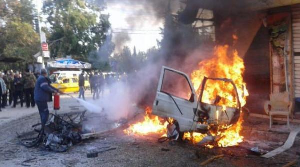 10 قتلى على الأقل بانفجار كبير في مدينة الراعي شمال سوريا