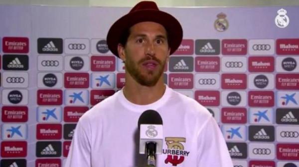 قبعة راموس تُثير ضجة داخل ريال مدريد