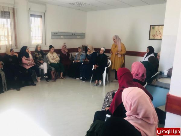 نشاطات مؤسسة لجان العمل الصحي في منطقة طوباس