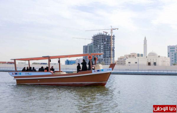 (46596) راكباً استخدموا النقل البحري خلال النصف الأول من عام 2019 بـ(عجمان)