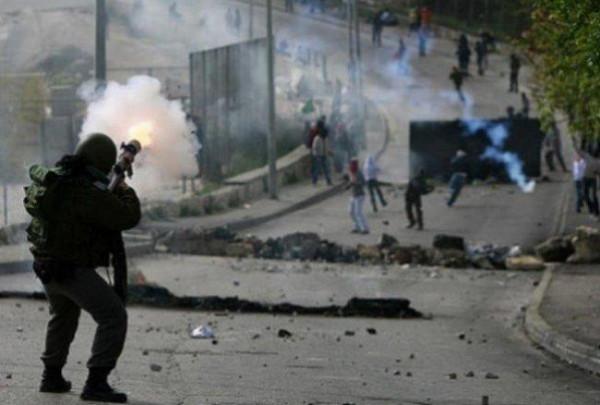 إصابة خمسة مواطنين بالاختناق في طوباس