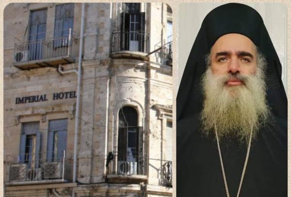 حنا: ان استهداف العقارات الارثوذكسية في باب الخليل انما هي جريمة جديدة
