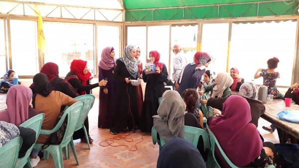 يوم للتفاعل الاجتماعي ينظمه القطاع النسوي لحركة المبادرة الوطنية بمحافظة شمال غزة
