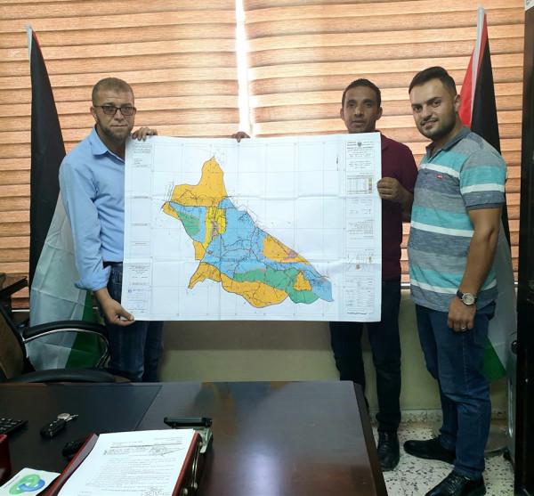 مجلس التنظيم الأعلى يصادق على التوسعة التنظيمية ومخطط هيكلي تجمع قرى خلة المية