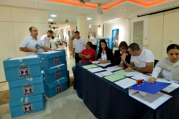 نسبة التصويت في المجتمع العربي 60% بعد فرز 91% من الأصوات