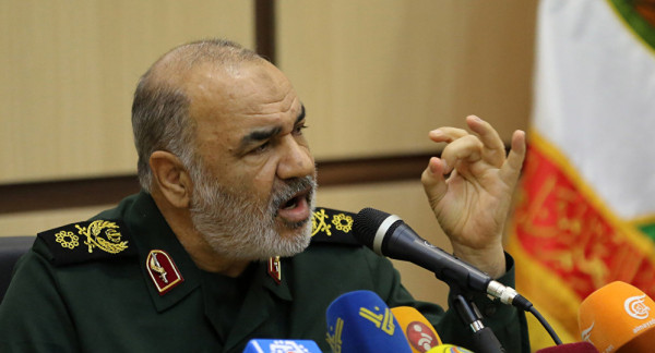 """أقوى تهديد من قائد الحرس الثوري لـ """"أعداء إيران"""""""