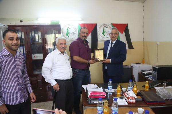 محافظ طولكرم يطلع على احتياجات الإتحاد الفلسطيني العام للأشخاص ذوي الإعاقة