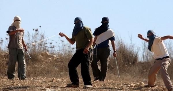 إصابة مواطن وتضرر مركبات باعتداءات للمستوطنين شرق رام الله