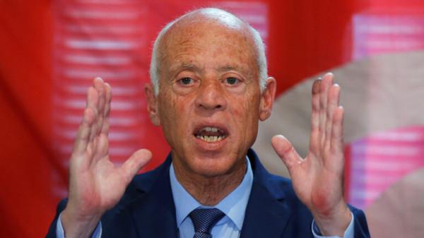 """أكبر حزب تونسي يدعم المرشح """"قيس سعيد"""" لمنصب الرئاسة"""