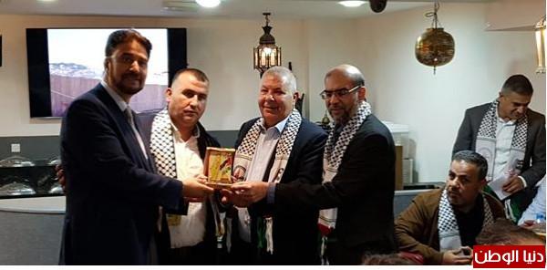 الجالية الفلسطينية في بريطانيا تستضيف عدد من أعضاء البرلمان البريطاني ومجلس بلدية(مانشست)