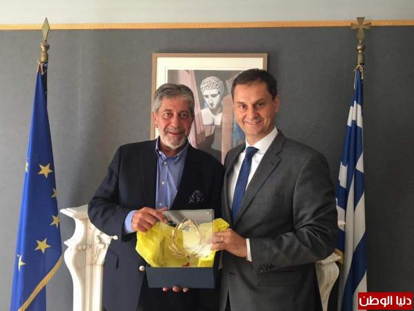 لقاءات مع وزراء الطاقة والسياحة وحماية المواطن يجريها السفير طوباسي