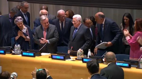 """الخارجية: جهود فلسطين بمجموعة الـ """"77 + الصين"""" ستعرض بافتتاح الجمعية العامة"""