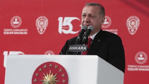 الرئيس التركي: مستعدون لعملية محتملة عند الحدود مع سوريا
