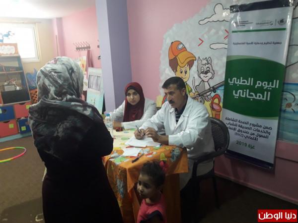 الفلسطينية لمرضى السرطان تنفذ يوماً طبياً مجانياً بالبريج