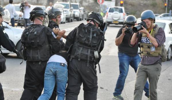 قوات الاحتلال تعتقل أربعة فلسطينيين من الضفة الغربية