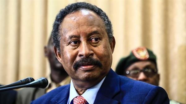 """رئيس الوزراء السوداني: أسعى لإزالة السودان من """"الدول الراعية للإرهاب"""""""