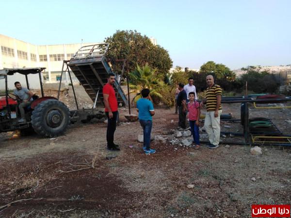 حركة فتح تنفذ نشاطاً تطوعياً في رافات