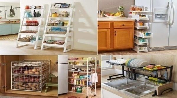 10 أفكار لرفوف مطبخ خارجة عن المألوف