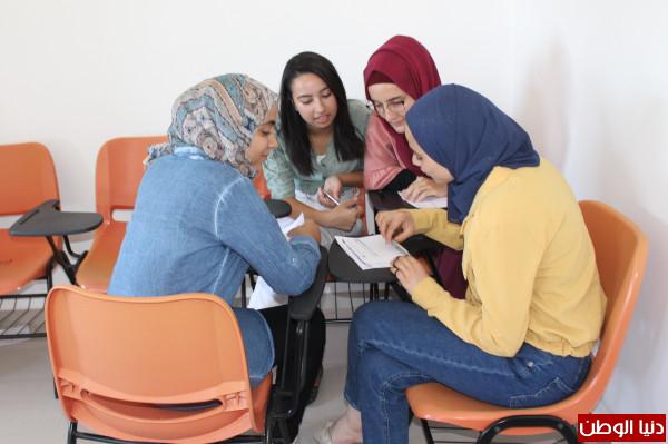 """الفلسطينية لإسناد الطلبة تنفذ تدريب """"الـمتطوع يستـطيع"""" في محافظة سلفيت"""