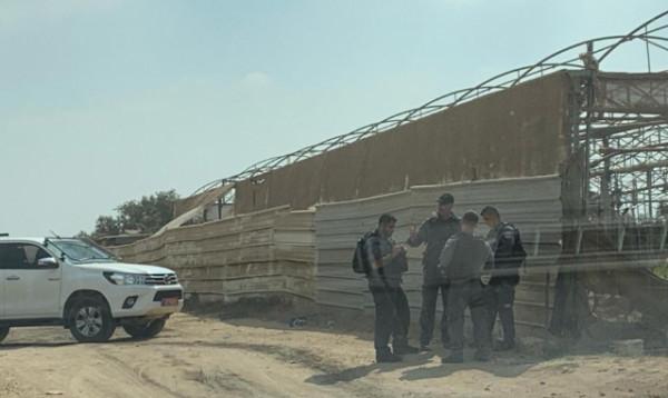 هدم منزل قيد الإنشاء لعائلة أبو عرار في قلنسوة