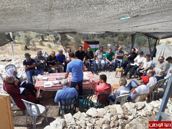 """الاعلان عن تشكيل ائتلاف الزراعة البيئة في فلسطين تحت عنوان"""" الارض تجمعنا"""""""
