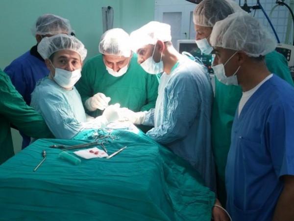 مستشفى بيت حانون يجرى عمليات اليوم الواحد لتقليص قوائم الانتظار