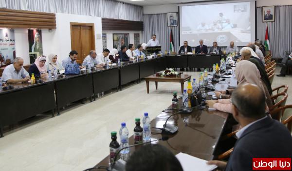 """عورتاني يُعلن """"ستيم فلسطين"""" برنامجاً أساسياً من برامج الوزارة"""
