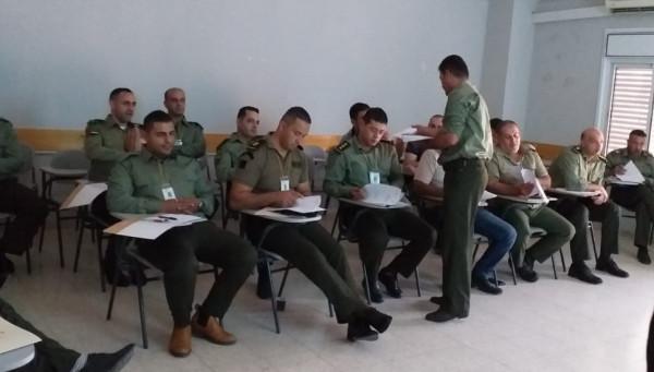 افتتاح دورة اعداد مفوضين سياسيين في معهدالتدريب المركزي في أريحا