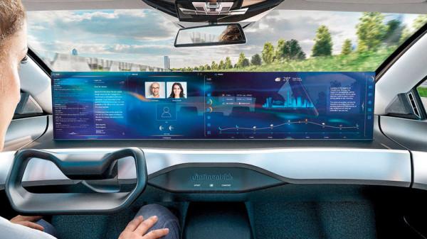 شاشة جديدة تحوّل مقصورة القيادة إلى مكتب جوال