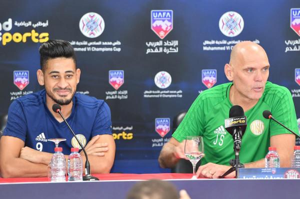 مدرب الجزيرة يحفز لاعبيه لتحقيق فوزهم الثاني في بطولة محمد السادس