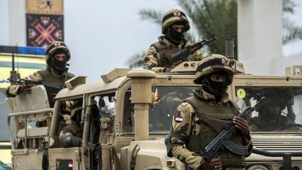 مقتل 15 مسلحاً باشتباكات مع القوات المصرية غرب العريش