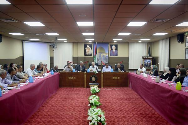 محافظ طولكرم يستقبل عضو اللجنة المركزية لحركة فتح محمد المدني