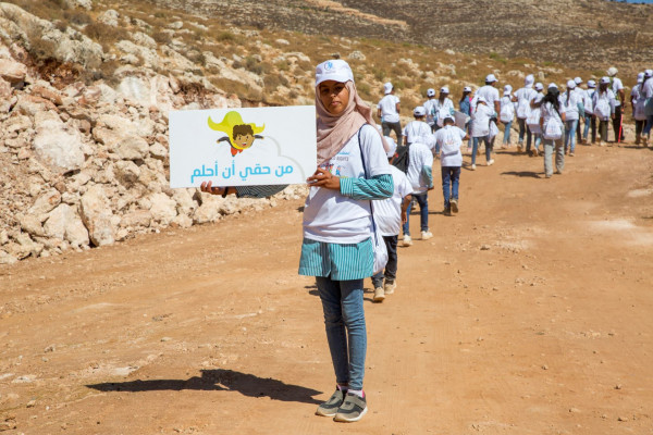 إطلاق حملة لمدة ثلاثين يوماً من أجل حقوق الأطفال الفلسطينيين
