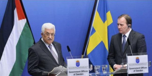 الرئيس عباس يستقبل رئيس وزراء السويد في نيويورك