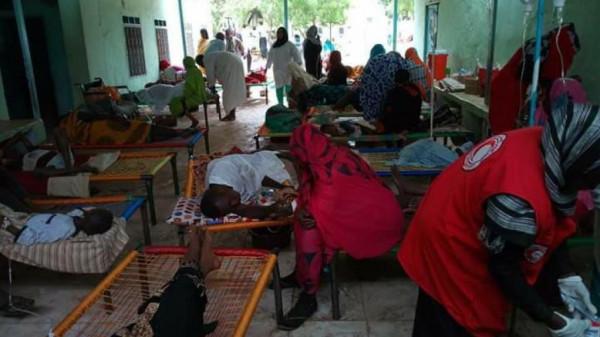 الصحة السودانية: ارتفاع الإصابات بالكوليرا إلى 167