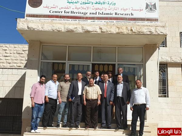 وكيل وزارة الأوقاف: مؤسسة إحياء التراث حافظة روايتنا في وجه التضليل الإسرائيلي
