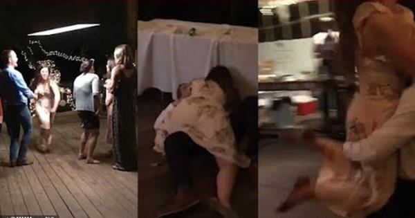 زوجان حاولا تقليد رقصة في أحد الأفلام.. والنتيجة ارتجاج بالمخ وانفجار الشفة