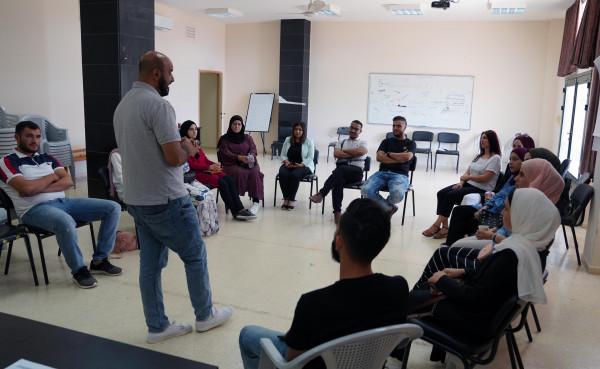 """""""الجامعة العربية الأمريكية""""تنظم دورات تدريبية لطلبتها حول إدارة المبادرات الثقافية والعمل الجماعي"""