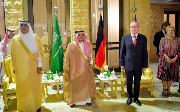 """""""سفارة ألمانيا"""" بالسعودية تحتفل بيوم الوحدة في مقر السفارة"""