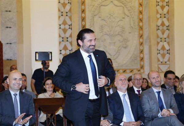 الحريري يغادر لبنان غداً برفقة ست وزراء