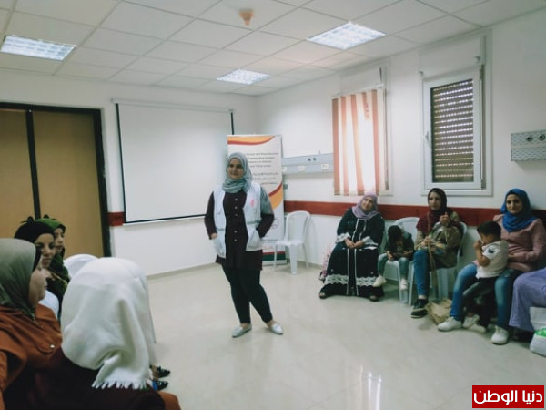 لجان العمل الصحي في طوباس تستضيف مجموعة من نساء الاغوار