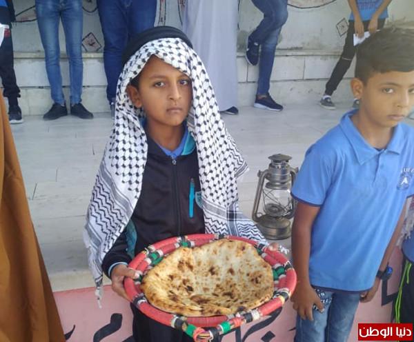 احياء يوم التراث الفلسطيني في مدرسة ذكور امريش الاساسية