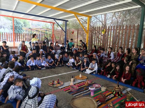 احياء يوم التراث الفلسطيني في مدرسة البطريركية اللاتينية عين عريك
