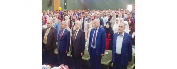 أبوغزاله يرعى حفل تكريم أوائل الفوج 40 من خريجي جامعة اليرموك