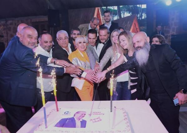 """هاني العمري يطلق """"أول شب"""" بحضور سياسي فني وإعلامي كبير"""