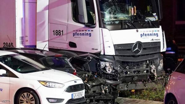 القبض على سوري في حادثة تصادم في ألمانيا