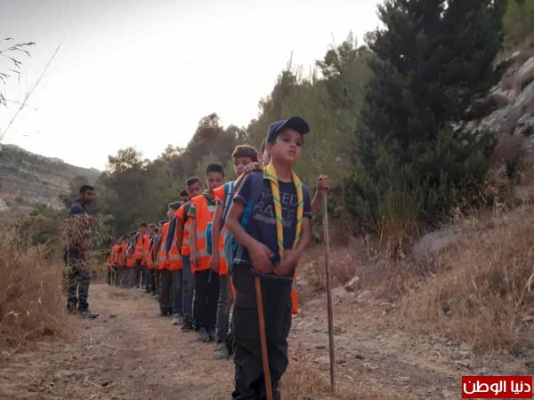 خليل الرحمن الكشفية تزور مخيم دبس الخليل الثاني في حسكة