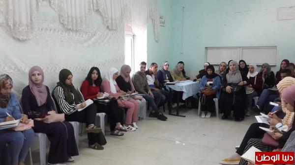 تنمية نابلس تعقد اجتماعا لمجلس التخطيط ومركز رونالدو يستقبل طلبة تخصص الخدمة
