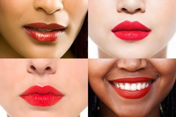 كيفية اختيار ألوان أحمر الشفاه للعروس حسب لون بشرتها